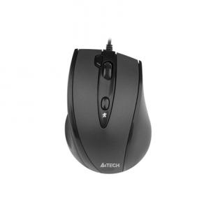 A4Tech mouse N-770FX V-Track Padless Mouse USB (Black) Kompiuterinės pelės