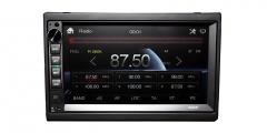 ABM Automobilių radijas AM/FM/MP3/USB/microSD/Bluetooth/RDS/AUX-in/AV-in Automagnetolos, FM moduliatoriai