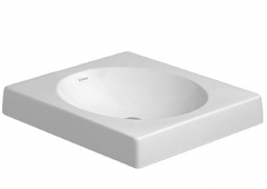 Above counter basin 50 cm Architec,white, quadra