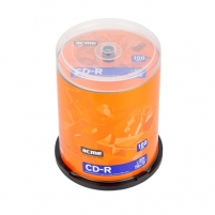 ACME CD-R 80/700MB 52X ''Cake'' dėžutėje 100 vnt Duomenų laikmenos