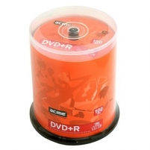 ACME DVD+R 120min/4,7GB 16X ''Cake'' dėžutėje 100vnt.
