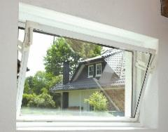 ACO plastic window utility rooms 800x500 mm. with glass Windows