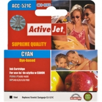 Activejet Ink Canon PGI-521C Cyan