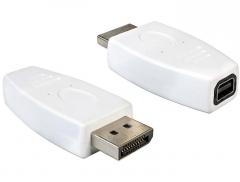 Adapteris Delock adapter Displayport male > Displayport mini female