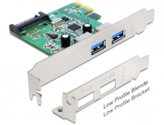Adapteris Delock PCI Express Card > 2 x USB 3.0