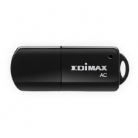 Adapteris Edimax AC600 Dual-Band High Gain USB Wi-Fi Adapter (802.11a/b/g/n/ac, 1xUSB2.0, Dual-band 2.4GHz/144Mbps and 5GHz/433Mbps, WPS, WEP 64/128-bit, WPA, WPA2, 802.1x)