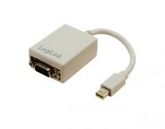 Adapteris LogiLink Mini Display Port --> VGA