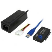 Adapteris LogiLink USB3.0 SATA, HDD 2,5 ir 3,5 OTB