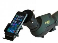 Adapteris universalus mobiliajam telefonui 44-53mm Optinių prietaisų aksesuarai