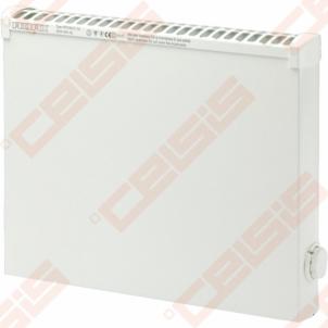 ADAX Elektrinis radiatorius atsparus aptaškymui VPS1004 KEM (325x388x84); su elektroniniu termostatu