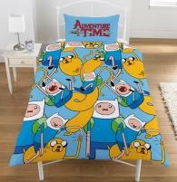 Adventure Time dvipusis viengulis patalynės komplektas