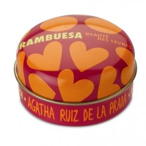 Agatha Ruiz De La Prada Lūpų balzamas- braškinis, kosmetikos 15ml Blizgesiai lūpoms