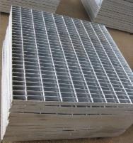Galvanized welded platform 600x1000/34x38/30x2 Boiled in a metal lattice