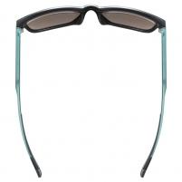 Akiniai Uvex lgl 42 black green mat / mirror yellow Dviratininkų akiniai