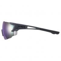 Akiniai Uvex Sportstyle 804 dark grey mat / mirror blue