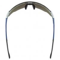 Akiniai Uvex Sportstyle 804 silver blue metallic / mirror silver