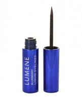 Akių kontūras Lumene Blueberry Liquid Eyeliner Cosmetic 2,8ml Black brown Akių pieštukai ir kontūrai