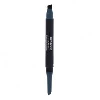 Akių kontūras Revlon Colorstay 2 In 1 Angled Kajal Cosmetic 0,28g Shade 103 Evergreen Akių pieštukai ir kontūrai