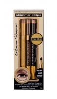Akių pieštukas Physicians Formula Shimmer Strips Glam Nude Eye Pencil + Smudger Trio Eye Pencil 0,6g Карандаши для глаз и контуры