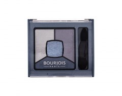 Akių šešėliai BOURJOIS Paris Smoky Stories 08 Ocean Obsession Quad Eyeshadow Palette Eye Shadow 3,2g Šešėliai akims