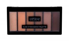 Akių šešėliai Gabriella Salvete Nude Eyeshadow Palette Eye Shadow 12,5g Šešėliai akims