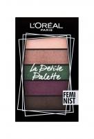 Akių šešėliai L´Oréal Paris La Petite Palette Feminist Eye Shadow 4g Šešėliai akims