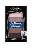Akių šešėliai L´Oréal Paris La Petite Palette Stylist Eye Shadow 4g Šešėliai akims