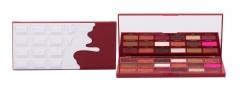 Akių šešėliai Makeup Revolution London I Heart Revolution Red Velvet Chocolate 18g Šešėliai akims
