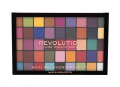 Akių šešėliai Makeup Revolution London Maxi Re-loaded Monster Mattes Eye Shadow 60,75g Šešėliai akims