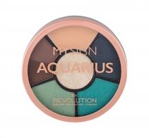 Akių šešėliai Makeup Revolution London My Sign Aquarius Complete Eye Wheel Eye Shadow 4,8g