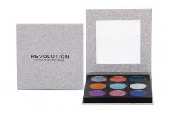 Akių šešėliai Makeup Revolution London Pressed Glitter Illusion 13,5g Šešėliai akims