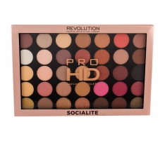Akių šešėliai Makeup Revolution London Pro HD Socialite Palette Amplified 35 Eye Shadow 29,995g Šešėliai akims