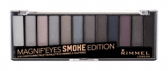 Akių šešėliai Rimmel London Magnif Eyes 003 Smoke Edition Contouring Palette Eye Shadow 14,16g Šešėliai akims