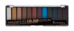 Akių šešėliai Rimmel London Magnif Eyes 004 Colour Edition Contouring Palette Eye Shadow 14,16g