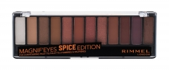 Akių šešėliai Rimmel London Magnif Eyes 005 Spice Edition Contouring Palette Eye Shadow 14,16g