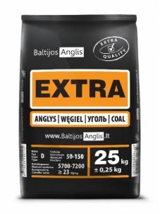 Akmens anglys EXTRA 50-150mm, paletė (1000kg) Cietā kurināmā apkures katli