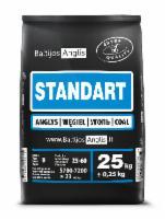Akmens anglis STANDART 25-40mm paletė(1000kg) Cietā kurināmā apkures katli