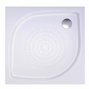 Akmens masės kvadratinis dušo padėklas VISPOOL KK-90 Dušo padėklai