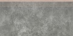 Akmens masės pakopa 597*297*8.5 35661 APENINO ANTRACYT LAP, Akmens masės apdailos plytelės