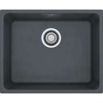 Akmens masės plautuvė Franke Kubus KBG 110-50, užkemšamas ventilis, Graphit The weight of the stone kitchen sinks
