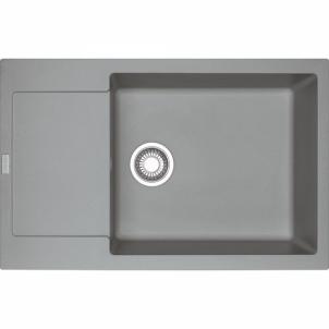 Akmens masės plautuvė Franke Maris, MRG 611-78 XL, Steingrau The weight of the stone kitchen sinks
