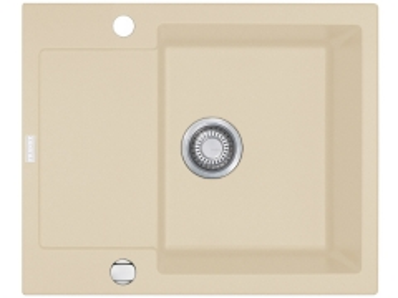 Akmens masės plautuvė FRANKE MYTHOS MTG 611 Sachara, dubuo dešinėje The weight of the stone kitchen sinks