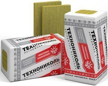 Stone wool insulation Technolait Optima 100x1200x600 (0,036) Stone wool insulation in general builders