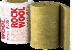 Stone wool insultaion roll Megarock Plius 100x1000x6000 Stone wool insulation in general builders