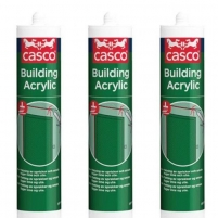 Akrilas CASCO Building acryl baltas 300 ml Acrylic sealants