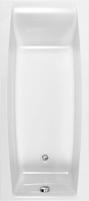 Akrilinė stačiakampė vonia CERSANIT VIRGO 150x75