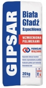 AATLAS GIPSAR UNI - ENHANCED FORMULA - white surface finish 10 kg