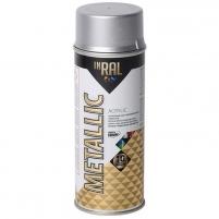 Akrilinis lakas INRAL METALLIC 400ml sidabro sp. Aerosol paints