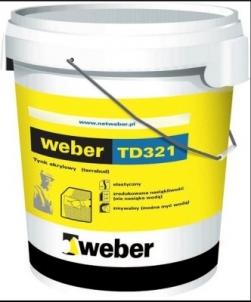 Tinkas dekorativinis, akrilinis polimerinis TD321 B 1,5/2,0 30kg