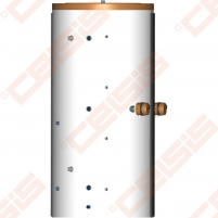 Akumuliacinė talpa DRAŽICE NADO 500/25 v6; 418l; Įmontuotas 25l, 2,2m² šilumokaitis